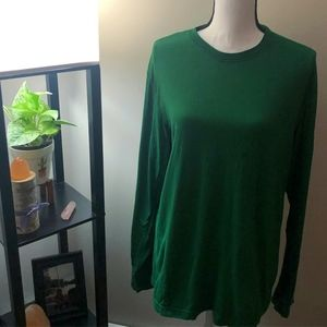 Old Navy Green Long Sleeve Shirt